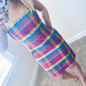 Lauren Ralph Lauren Pink Plaid Dress - 6